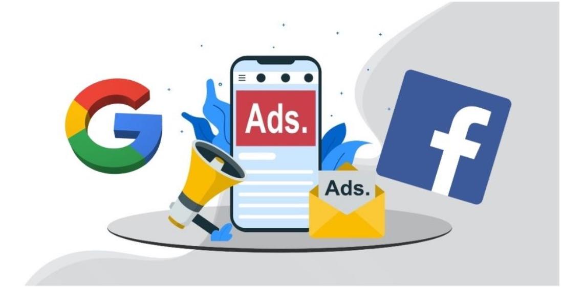 Google Ads e Facebook ads